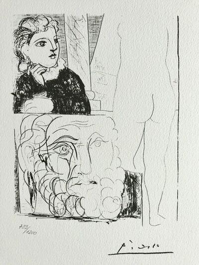Pablo Picasso, 'Suite Vollard Planche LXXI', 1973