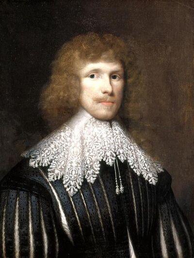 Francis Hawkesworth Fawkes, 'Portrait of Lucius Carey, Second Viscount Falkland', 1634