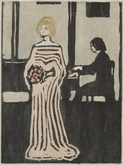 Wassily Kandinsky, 'Sängerin', 1903