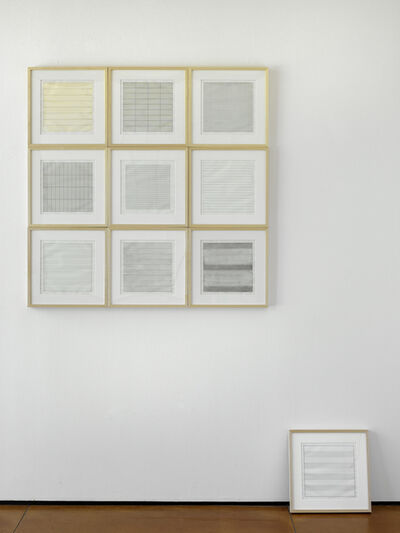 Agnes Martin, 'Untitled ', 1990