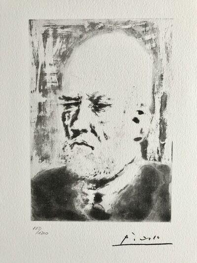 Pablo Picasso, 'Portrait d'Ambroise Vollard (Suite Vollard Planche XCVIII)', 1973