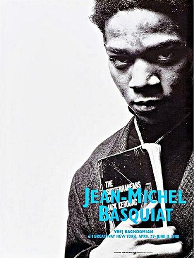 Jean-Michel Basquiat, 'Basquiat with Jack Kerouac (SAMO's final exhibition)', 1988