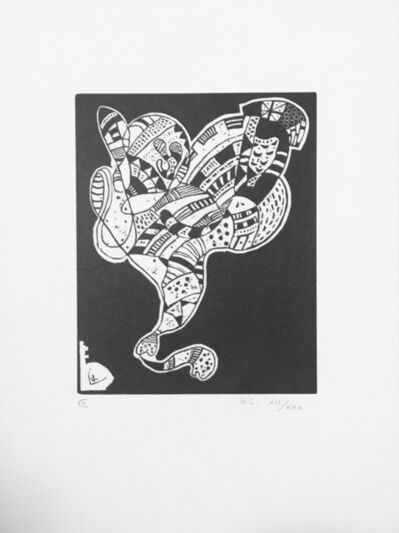 Wassily Kandinsky, 'Gravure pour 10 Origine', 1942
