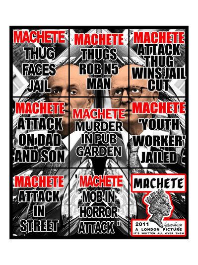 Gilbert & George, 'Machete', 2011