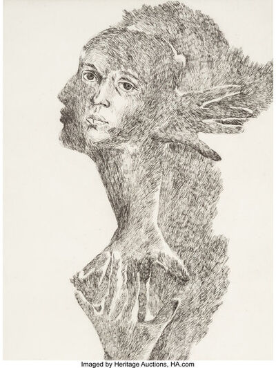 Marisol Escobar, 'Self Portrait', 1973