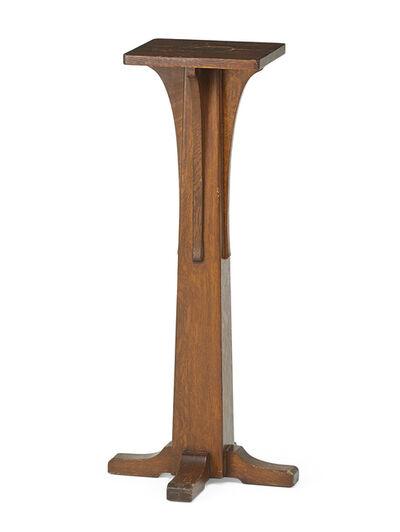 L. & J.G. Stickley, 'Pedestal', ca. 1910
