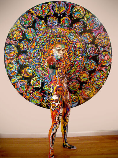 Clive Barker, 'Rose Window', 2009