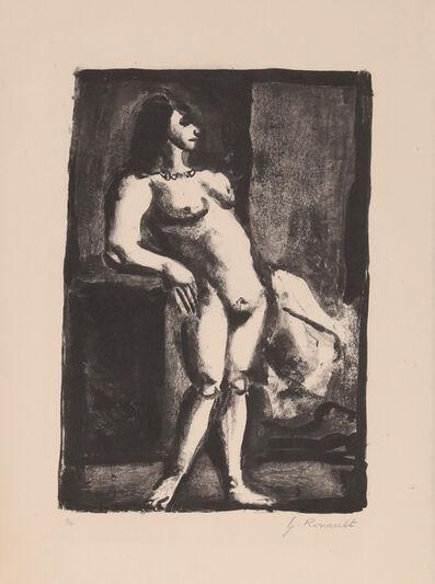 Georges Rouault, 'La Fille from Maitres et Petits Maitres d'Aujourd'hui', 1927