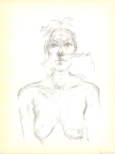 Alberto Giacometti, 'Peinture', 1960