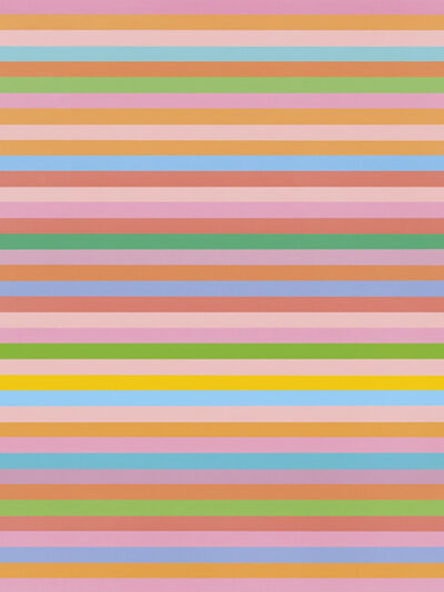 Bridget Riley, 'Rose Rose', 2011