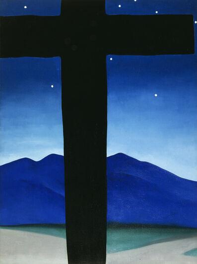 Georgia O'Keeffe, 'Black Cross with Stars and Blue ', 1929