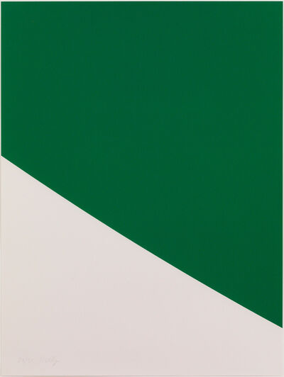 Ellsworth Kelly, 'Green Curve', 1999