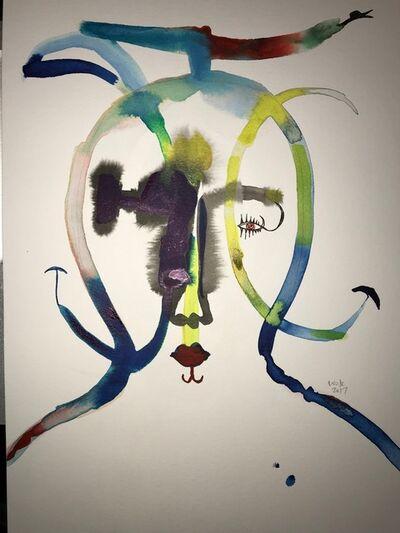 Wole Lagunju, 'Masker II', 2017