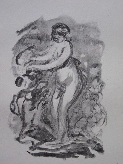 Pierre-Auguste Renoir, 'Femme Au Cep De Vigne, variante', 1904