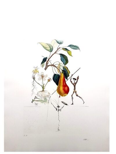 "Salvador Dalí, 'Original Lithograph ""Flordali - Pear of Don Quixote"" by Salvador Dali', 1969"