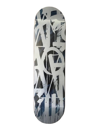 RETNA, 'Limited Edition Blue Skateboard ', 2018