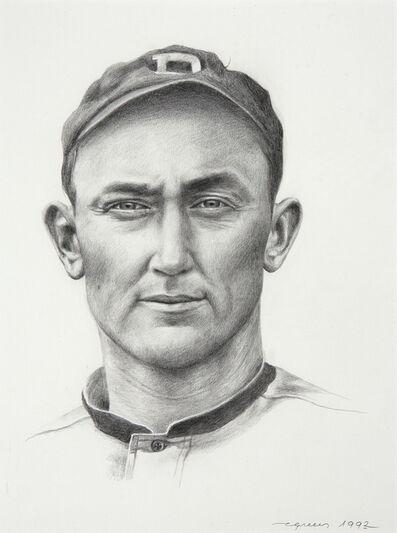 Eric Green, 'Portrait of Ty Cobb'