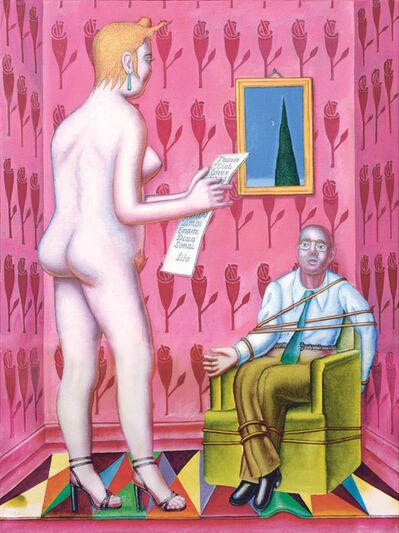 Konrad Klapheck, 'La lettre / Der Brief', 2015