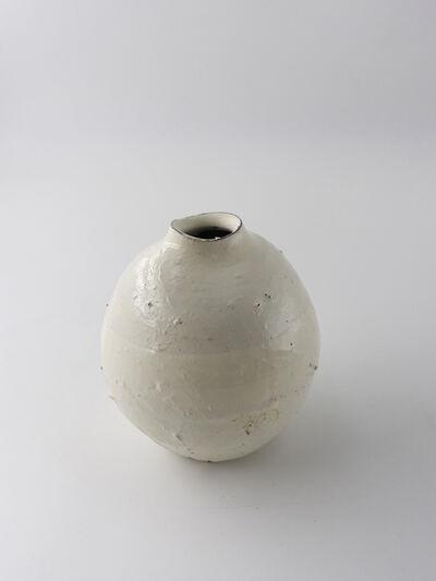 Shiro Tsujimura, 'Kohiki round small pot', 2018