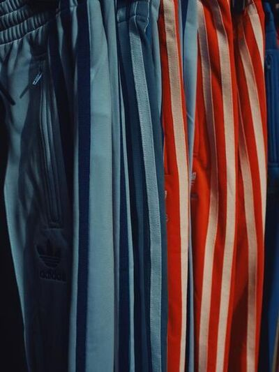 Christopher Anderson, 'Track suits for sale at the market. Sete, France. ', 2011