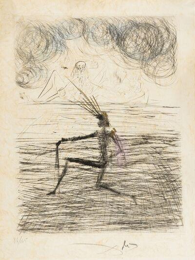 Salvador Dalí, 'Chevalier à genou (Field 69-1K; M&L 305k)', 1968/1969
