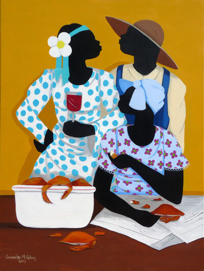 Cassandra Gillens, 'Wine and Crabs (dimensions provided are unframed)'