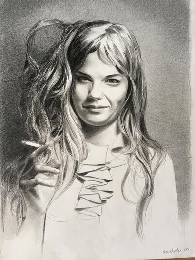 Mercedes Helnwein, 'Girl Smiling', 2015