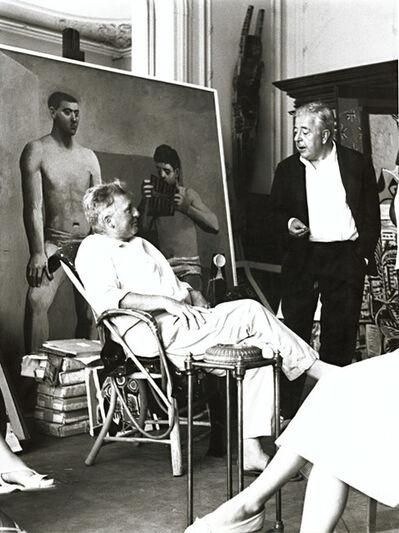 André Villers, 'Edouard Pignon and Jacques Prévert in Picasso's Studio', 1950s/1960s