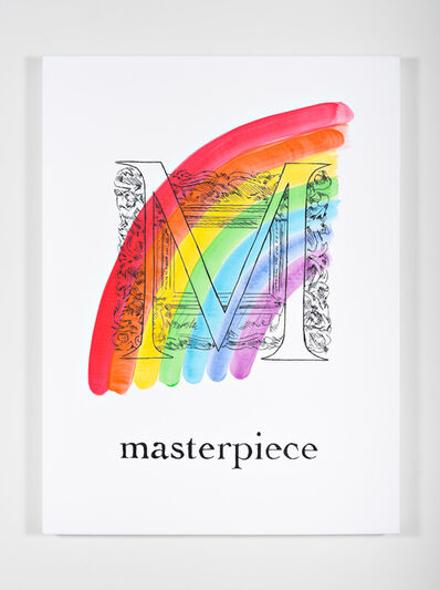 Mieke Marple, '$$$ ABCs (M is for Masterpiece)', 2018