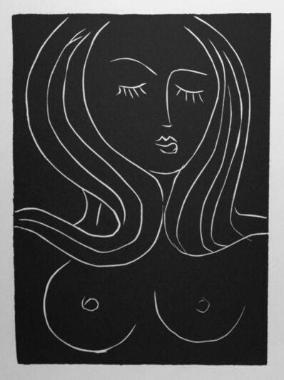 Henri Matisse, 'Buste de femme aux cheveaux longs. No 1.', 1943