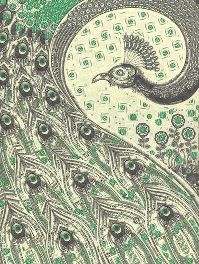 Mark Wagner, 'Peacock', 2018