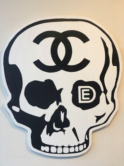 """Dylan Egon, ' """"DE Chanel Skull""""', ca. 2018"""