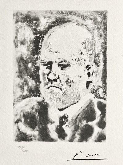 Pablo Picasso, 'Portrait d'Ambroise Vollard (Suite Vollard Planche IC)', 1973