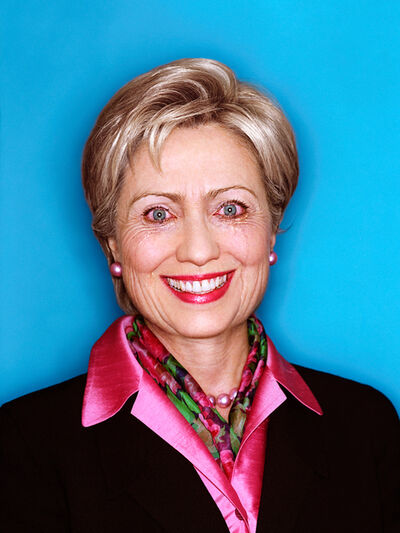 David LaChapelle, 'Hilary Clinton: Politicians Paradox', 2001