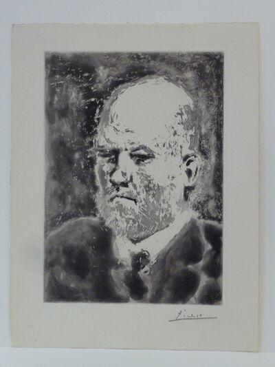 Pablo Picasso, ' Portrait de Vollard I', 1937