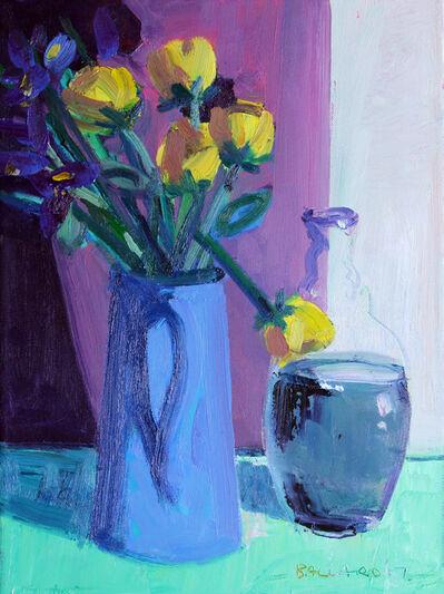 Brian Ballard, 'Roses and Bottle', 2017