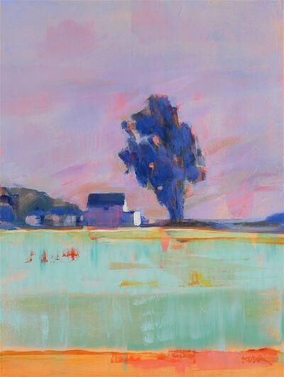 Kanna Aoki, 'Farm with Lavender Sky', 2018