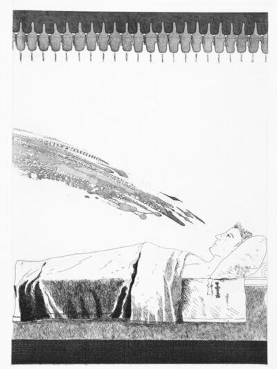 David Hockney, 'Cold Water About to Hit the Prince ', 1969