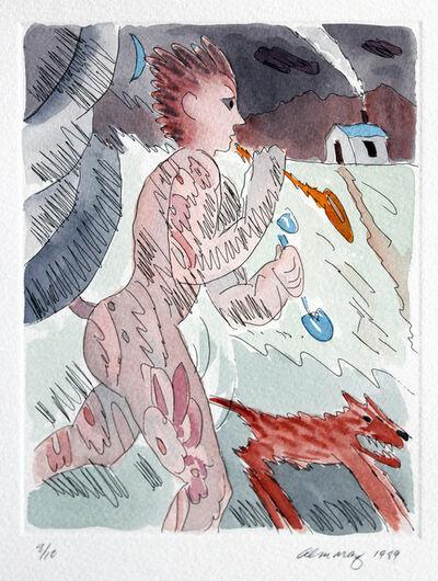 Carlos Almaraz, 'Untitled (from the Moonlight Theater Series)', 1989