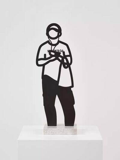 Julian Opie, 'Headphones (Melbourne Statuettes Series)', 2018