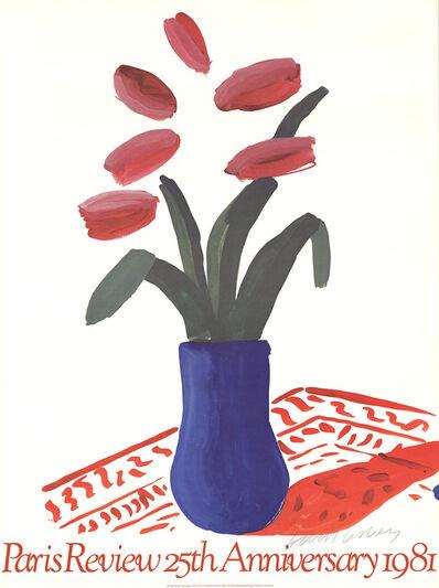David Hockney, 'Paris Review 25th Anniversary', 1980