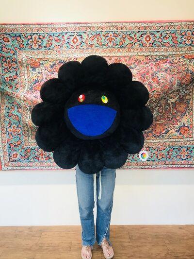 Takashi Murakami, 'Flower - Black soft sculpture '