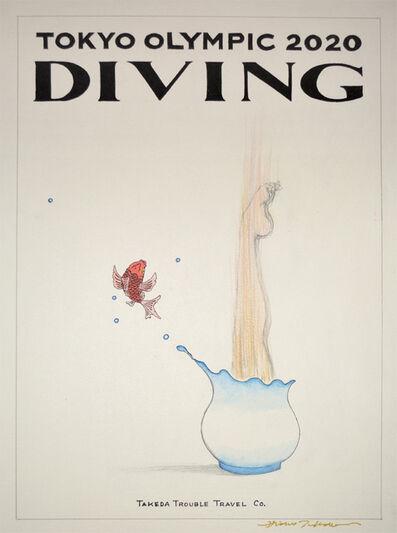 Hideo Takeda, 'Diving', 2016