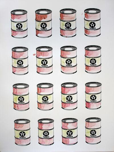 Beejoir, 'Oil Cans', 2017