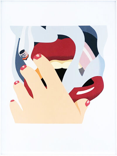Tom Wesselmann, 'Smoker', 1976