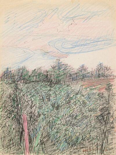 Hoo Mojong, 'Landscape No.10', 1990
