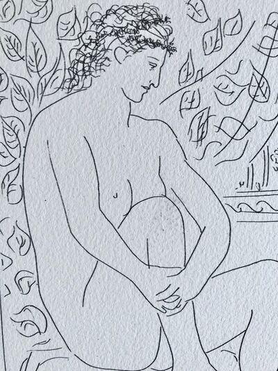 Pablo Picasso, 'Femme nue assise (Suite Vollard Planche IV)', 1973