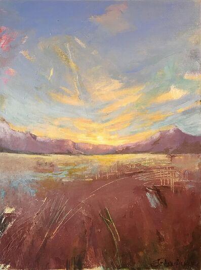 JoAnn Augur, 'Sunset Landscape', ca. 2019