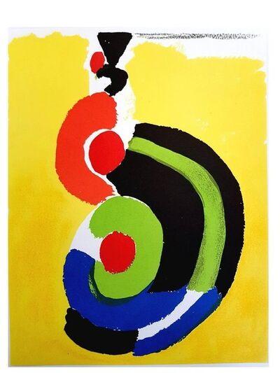 "Sonia Delaunay, 'Original Lithograph ""Composition II"" by Sonia Delaunay', 1972"