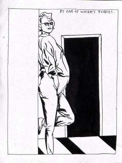 Raymond Pettibon, 'No Title (By one of)', 1987